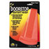 <strong>Master Caster®</strong><br />Giant Foot Doorstop, No-Slip Rubber Wedge, 3.5w x 6.75d x 2h, Safety Orange