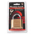 "<strong>Master Lock®</strong><br />Resettable Combination Padlock, 2"" Wide, Brass"