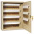 <strong>SteelMaster®</strong><br />Uni-Tag Key Cabinet, 160-Key, Steel, Sand, 16 1/2 x 4 7/8 x 20 1/8