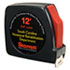 """<strong>AbilityOne®</strong><br />5210001824797, SKILCRAFT Tape Measure, 0.75"""" x 10 ft Power Return and Belt Clip, Steel"""