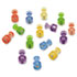 "<strong>Quartet®</strong><br />Magnetic ""Push Pins"", 3/4"" dia, Assorted Colors, 20/Pack"