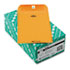 <strong>Quality Park&#8482;</strong><br />Clasp Envelope, #1, Cheese Blade Flap, Clasp/Gummed Closure, 6 x 9, Brown Kraft, 100/Box