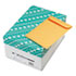 <strong>Quality Park&#8482;</strong><br />Catalog Envelope, #1 3/4, Cheese Blade Flap, Gummed Closure, 6.5 x 9.5, Brown Kraft, 500/Box