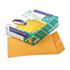 <strong>Quality Park&#8482;</strong><br />Catalog Envelope, #10 1/2, Cheese Blade Flap, Gummed Closure, 9 x 12, Brown Kraft, 100/Box