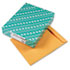 <strong>Quality Park&#8482;</strong><br />Catalog Envelope, #15 1/2, Cheese Blade Flap, Gummed Closure, 12 x 15.5, Brown Kraft, 100/Box