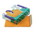 <strong>Quality Park&#8482;</strong><br />Redi-Strip Catalog Envelope, #10 1/2, Cheese Blade Flap, Redi-Strip Closure, 9 x 12, Brown Kraft, 100/Box