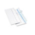 <strong>Quality Park&#8482;</strong><br />Redi-Strip Security Tinted Envelope, #10, Commercial Flap, Redi-Strip Closure, 4.13 x 9.5, White, 500/Box