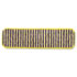 """<strong>Rubbermaid® Commercial</strong><br />Microfiber Scrubber Pad, Vertical Polyprolene Stripes, 18"""", Yellow, 6/Carton"""