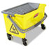 <strong>Rubbermaid® Commercial HYGEN&#8482;</strong><br />HYGEN Press Wring Bucket for Microfiber Flat Mops, Yellow