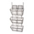 <strong>Safco®</strong><br />Panelmate Triple-File Basket Organizer, 15 1/2 x 29 1/2, Charcoal Gray
