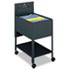 <strong>Safco®</strong><br />Extra-Deep Locking Mobile Tub File, 16.5w x 24.75d x 28.25h, Black