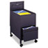 <strong>Safco®</strong><br />Locking Mobile Tub File With Drawer, Letter Size, 17w x 26d x 28h, Black
