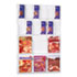 <strong>Safco®</strong><br />Reveal Clear Literature Displays, 18 Compartments, 30w x 2d x 45h, Clear