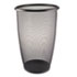 <strong>Safco®</strong><br />Onyx Round Mesh Wastebasket, Steel Mesh, 9 gal, Black