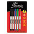 <strong>Sharpie®</strong><br />Ultra Fine Tip Permanent Marker, Extra-Fine Needle Tip, Assorted Colors, 5/Set