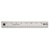 <strong>Westcott®</strong><br />Stainless Steel Office Ruler With Non Slip Cork Base, 18""