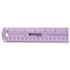 "<strong>Westcott®</strong><br />12"" Jewel Colored Ruler"