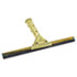"<strong>Unger®</strong><br />Golden Clip Brass Squeegee Complete, 12"" Wide"