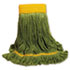 <strong>Boardwalk®</strong><br />EcoMop Looped-End Mop Head, Recycled Fibers, Large Size, Green