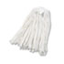 <strong>Boardwalk®</strong><br />Cut-End Wet Mop Head, Rayon, No. 20, White