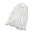 <strong>Boardwalk®</strong><br />Cut-End Wet Mop Head, Rayon, No. 24, White
