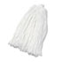<strong>Boardwalk®</strong><br />Cut-End Wet Mop Head, Rayon, No. 32, White