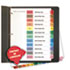 <strong>Universal®</strong><br />Deluxe Table of Contents Dividers for Printers, 12-Tab, Jan. to Dec., 11 x 8.5, White, 1 Set