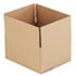 "<strong>General Supply</strong><br />Fixed-Depth Shipping Boxes, Regular Slotted Container (RSC), 12"" x 10"" x 6"", Brown Kraft, 25/Bundle"