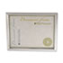 <strong>Universal®</strong><br />Plastic Document Frame, for 8 1/2 x 11, Easel Back, Metallic Silver