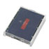 <strong>Identity Group</strong><br />T5470 Dater Replacement Ink Pad, 1 5/8 x 2 1/2, Blue/Red