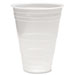 Translucent Plastic Cold Cups, 3 oz, Polypropylene, 25 Cups/Sleeve, 100 Sleeves/Carton