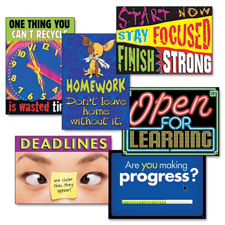 """Picture of """"Motivation"""" ARGUS Poster Combo Pack, 6 Posters/Pack"""