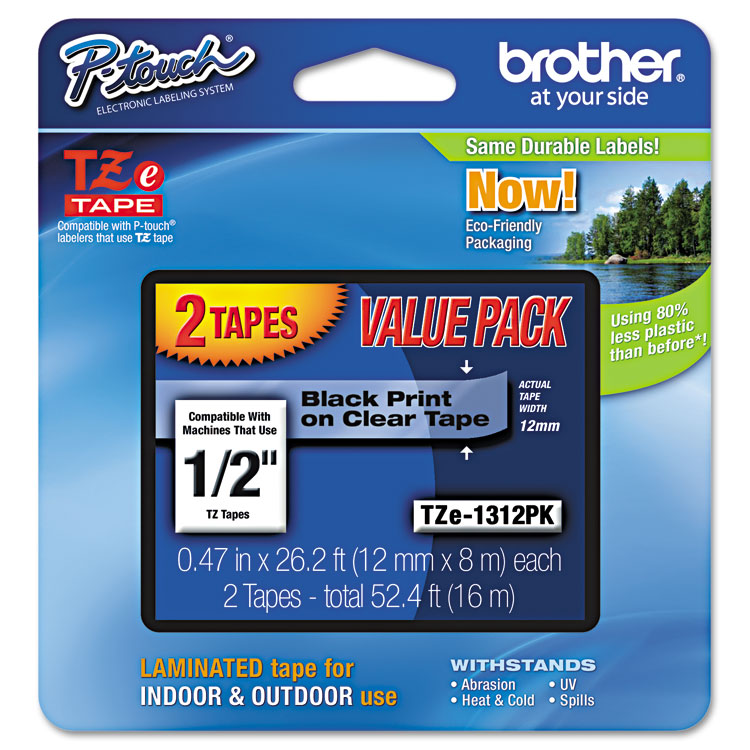 Brother P-Touch® TZE1312PK