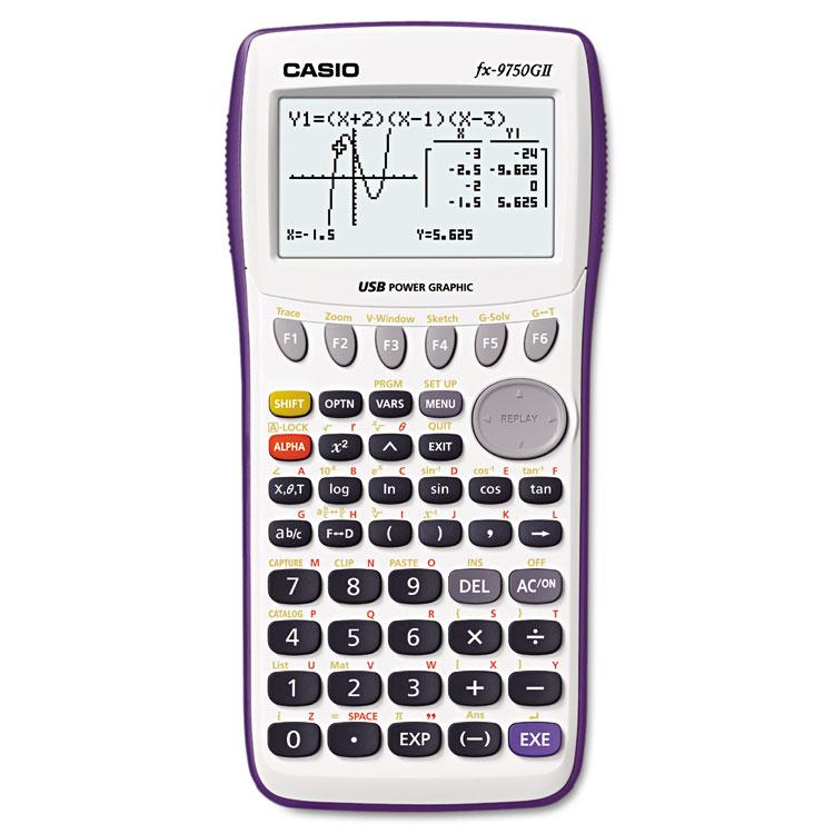 Casio® FX9750GII-WE