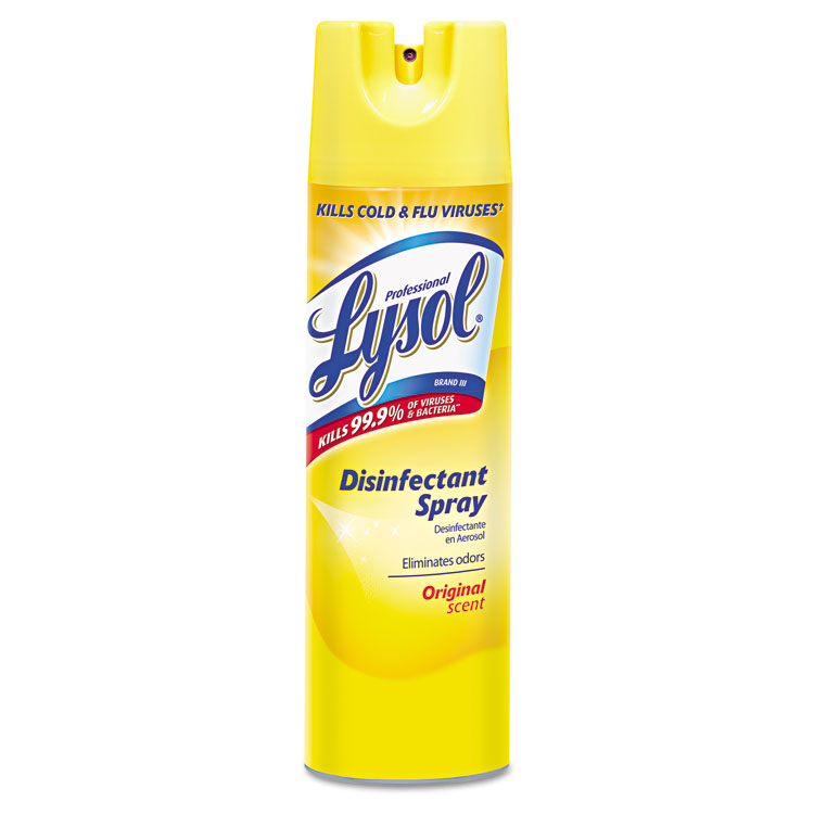 Picture of Disinfectant Spray, Original Scent, 19 oz Aerosol Can