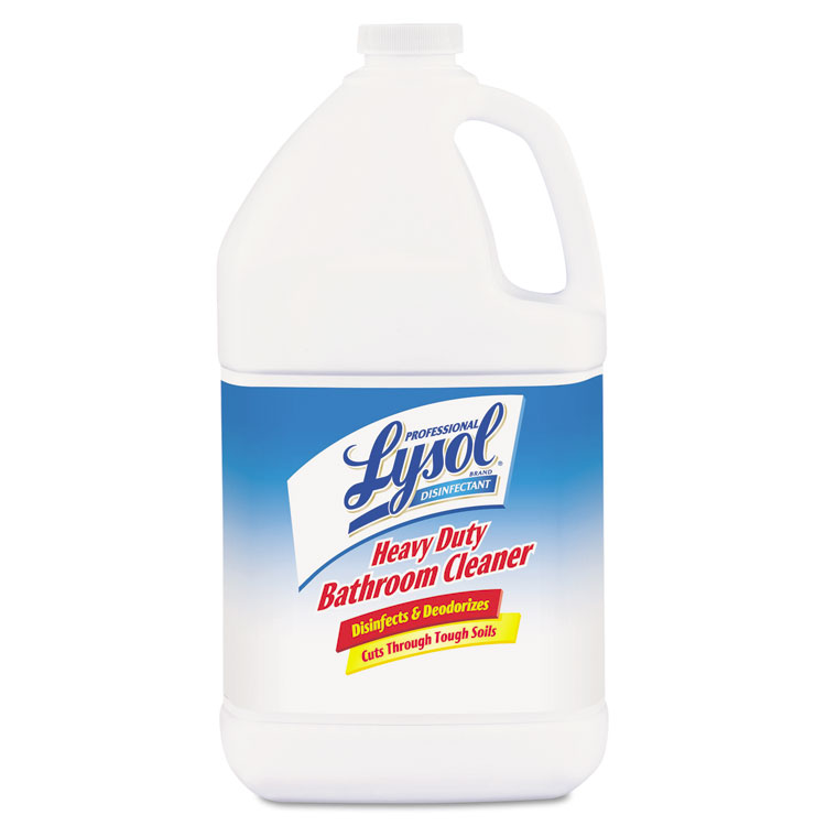 Picture of Disinfectant Heavy-Duty Bath Cleaner, Lime, 1gal