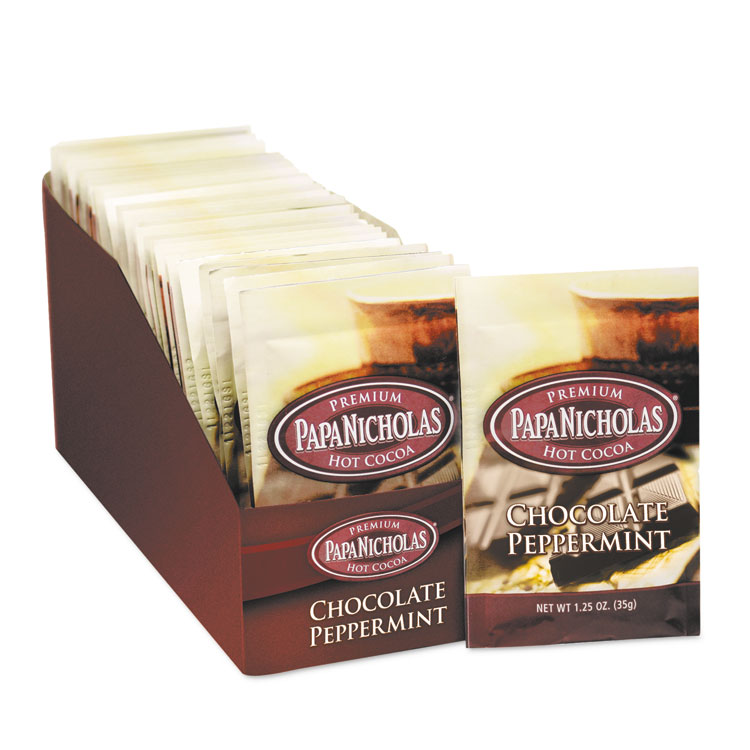 Picture of Premium Hot Cocoa, Chocolate Peppermint, 24/Carton
