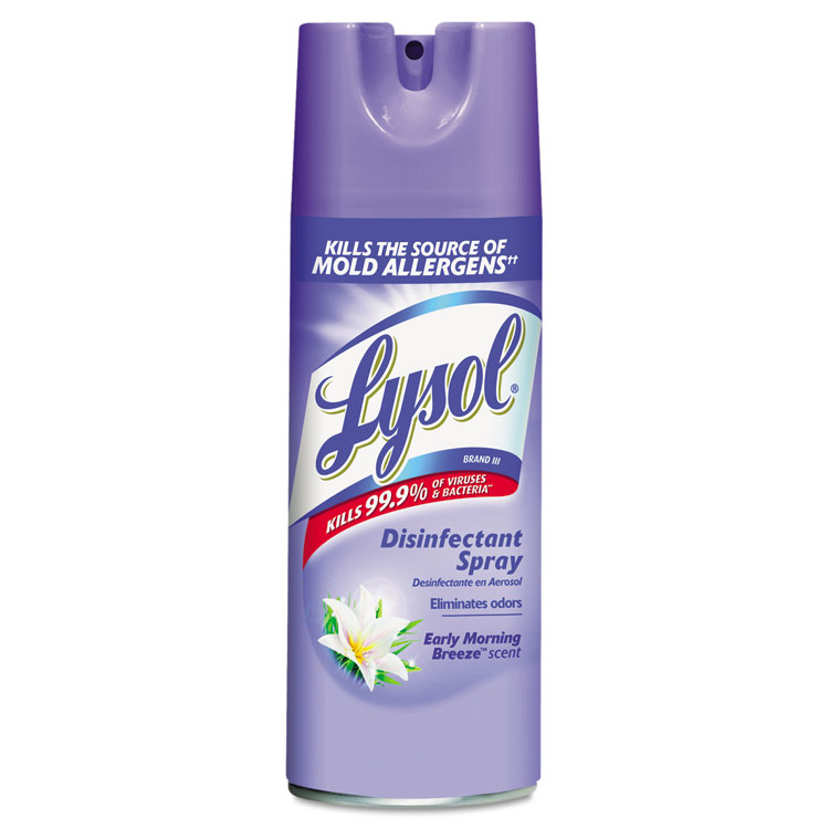 Picture of Disinfectant Spray, Early Morning Breeze, 12oz, Aerosol
