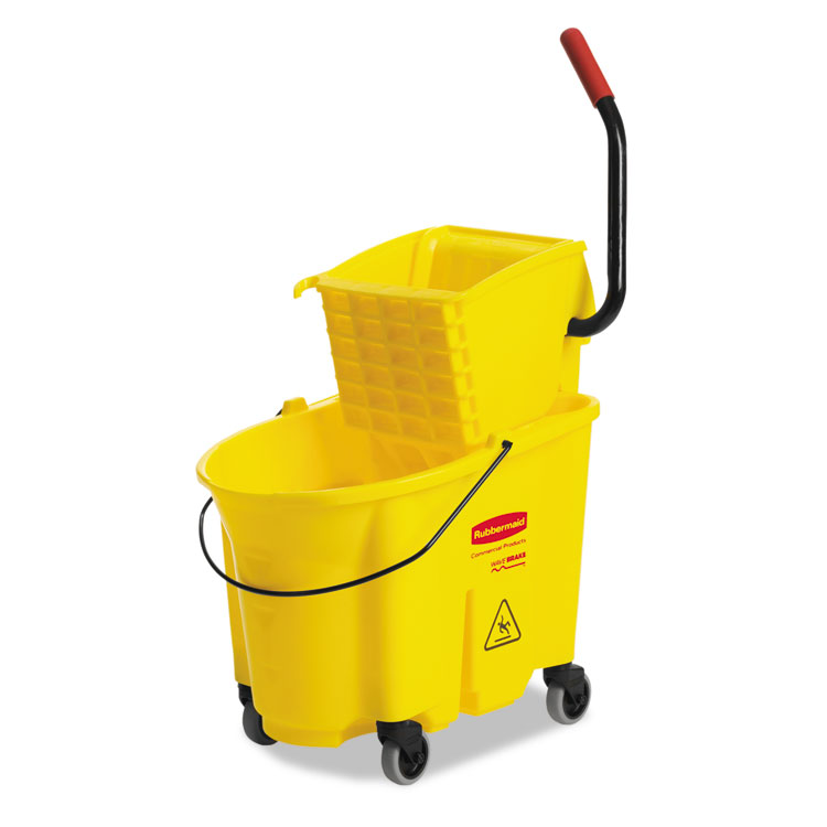 Rubbermaid wavebreak 35 Quart Bucket and Wringer Combination