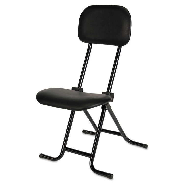 IL Series Height Adjustable Folding Stool By Alera Plus AAPCS612