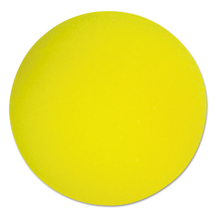 "Picture of Uncoated  Foam Balls, Regular-Density, 4"" Diameter, Yellow"