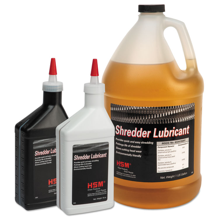 HSM of America Shredder Oil