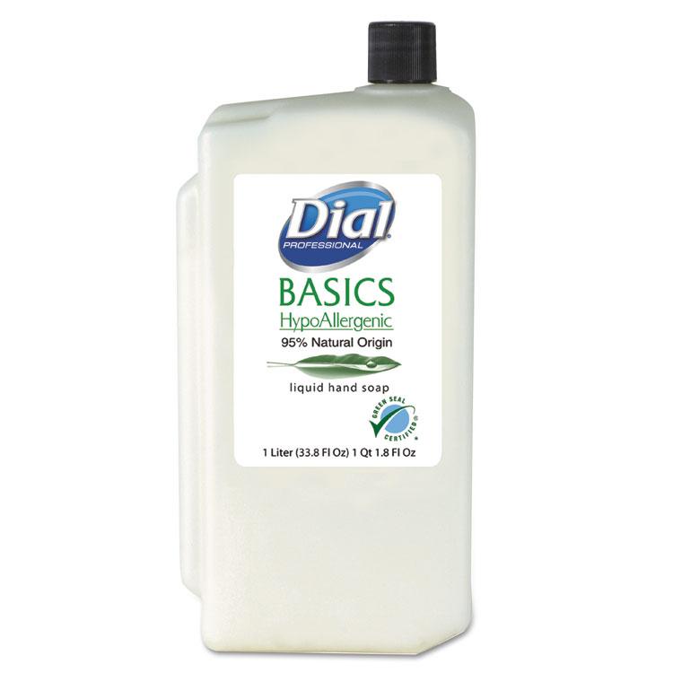 Picture of Basics Liquid Hand Soap, Fresh Floral, 1000mL Refill, 8/Carton