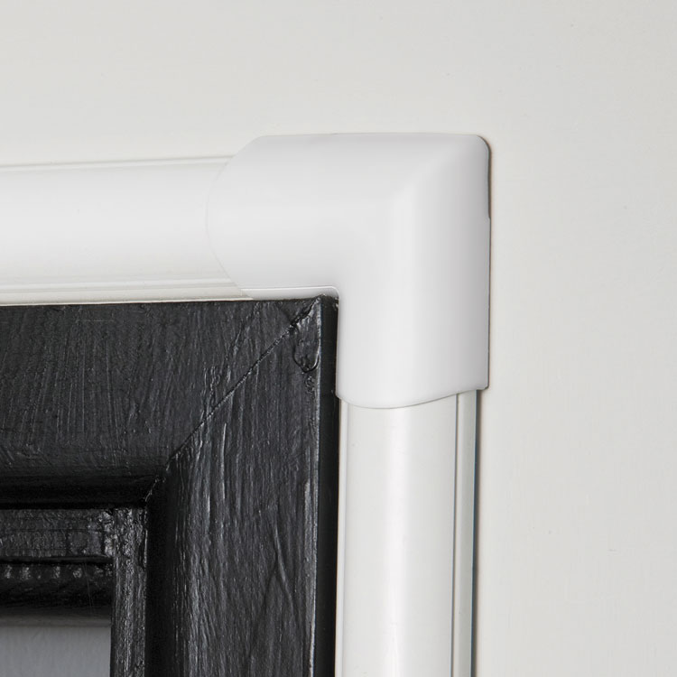 Clip Over Door Top Bend For Mini Cord Cover By D Line