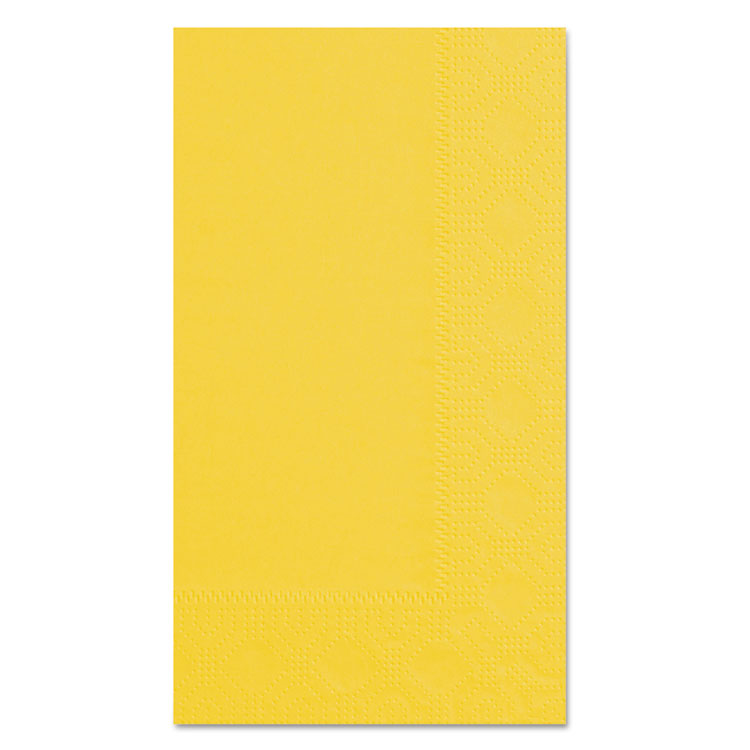Picture of Dinner Napkins, 2-Ply, 15 x 17, Sun, 1000/Carton