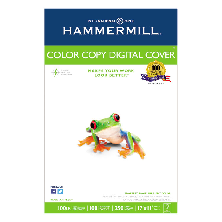 Picture of Copier Digital Cover, 92 Brightness, 17 x 11, Photo White, 250 Sheets/Pack