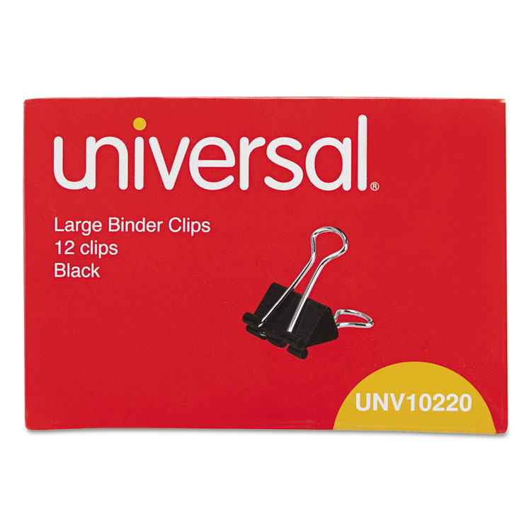 Large Binder Clips By Universal® UNV10220