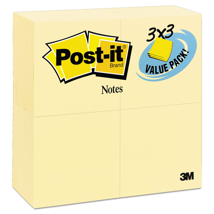 Post-it® Notes 654-24VAD-B