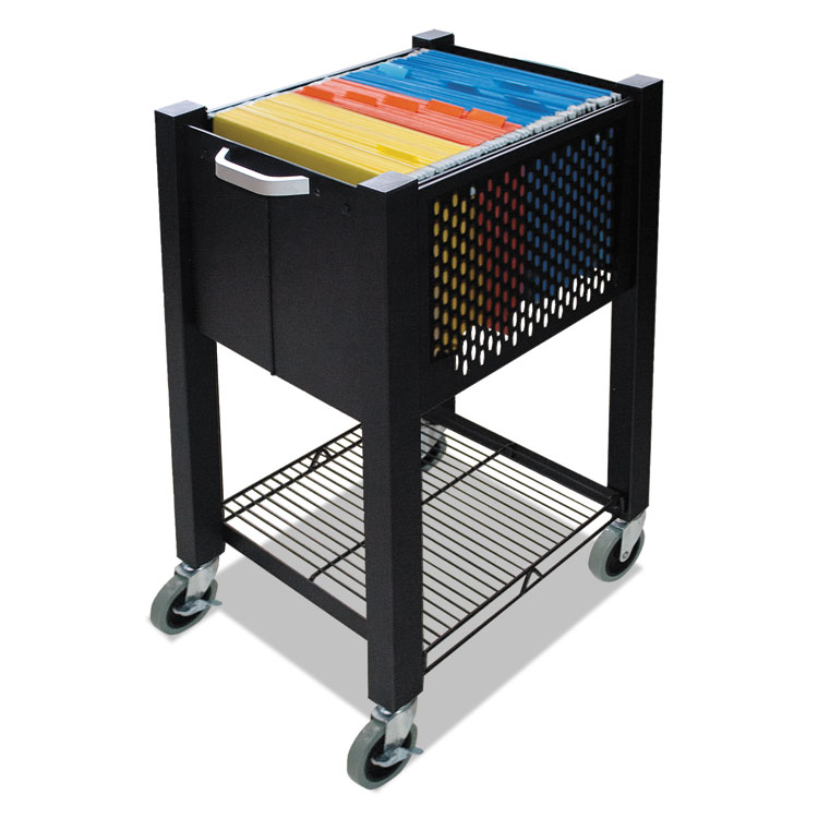 Picture of InstaCart Sidekick File Cart, 14-1/4w x 16-1/4d x 27-3/4h, Black