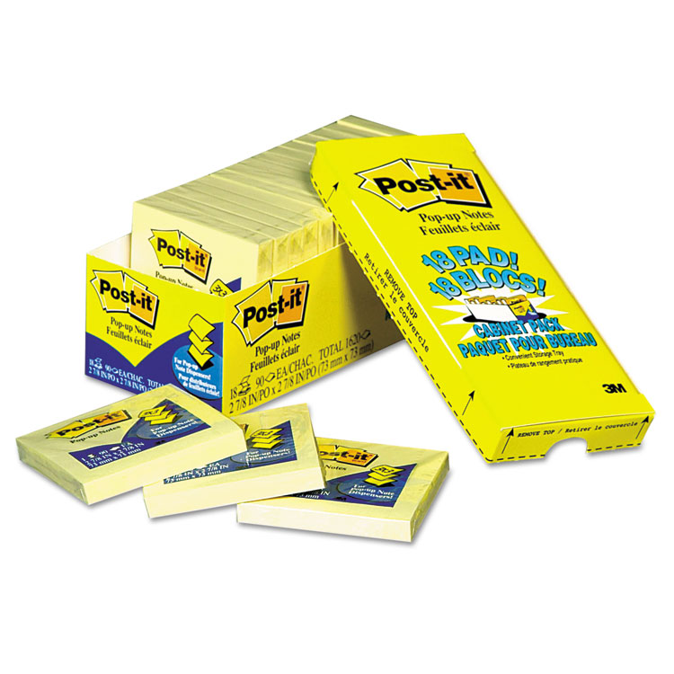 Post-it® Pop-up Notes R330-18CP